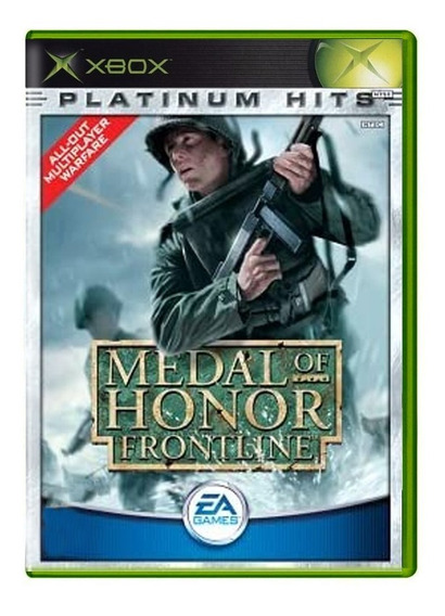 Medal Of Honor Frontline - Xbox Clássico / Xbox 360