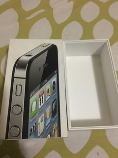 Caja Vacía Original iPhone 4s 16gb Negro