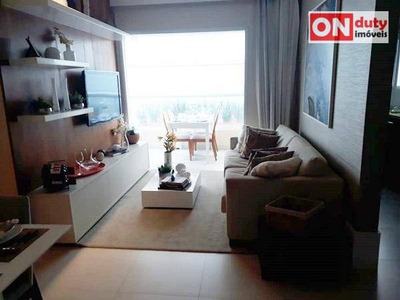 Apartamento Residencial À Venda, Campo Grande, Santos. - Ap4189
