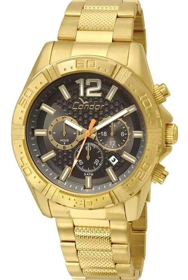 Relógio Masculino Condor Covd33ar/4c Barato Original