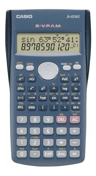 Calculadora Científica Casio Fx-82ms - Garantia 3 Anos