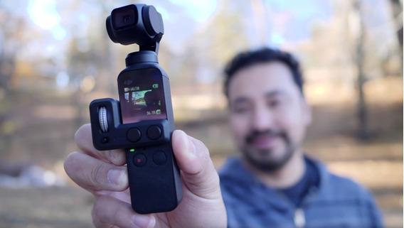 Dji Osmo Pocket Câmera 4k Estabilizador Gimbal Wifi