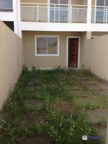 Casa Com 2 Dormitórios À Venda, 50 M² Por R$ 230.000,00 - Campo Grande - Rio De Janeiro/rj - Ca1909