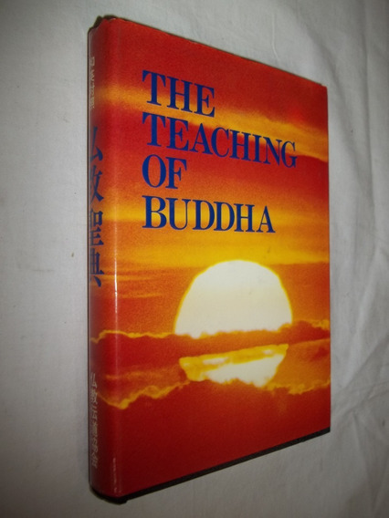 Livro - The Teaching Of Buddha