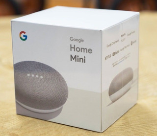 Google Home Mini Sellado 100% Nuevo Asistente Personal
