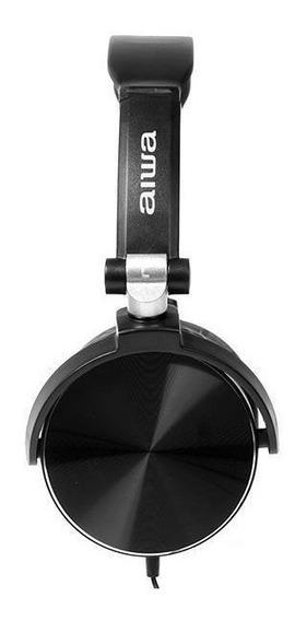 Fone De Ouvido P2 3.5mm Com Microfone Aiwa Aw-x107b