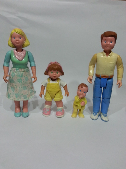 Figuras Vintage Fisher Price Loving Family Dollhouse 1993
