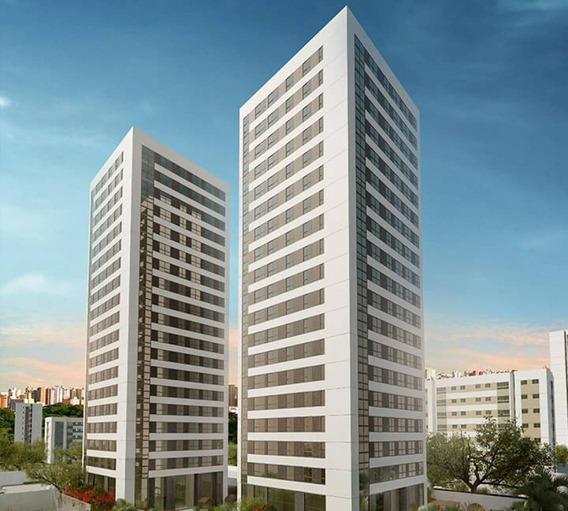 Flat Em Parnamirim, Recife/pe De 32m² 1 Quartos À Venda Por R$ 395.391,06 - Fl280603