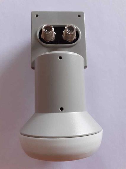 2 Lnb Duplo Sensor Duas Saidas Ku Antena 60 90 Cm Universal