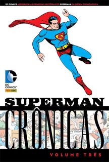 Kit 3 Hqs Do Superman = Capa Dura