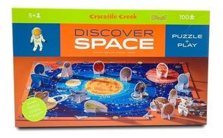 Puzzle + Juego 100p Discover Space