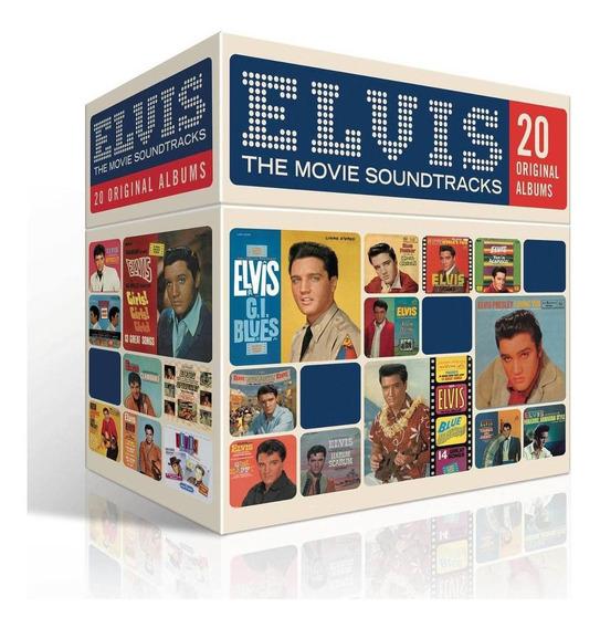 Cd Box Elvis Presley Movie Soundtracks 20 Albums Original