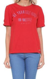 Camiseta Estampada Feminina Colcci 03666