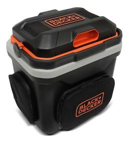 Mini Geladeira Portátil 24l 12v Ref/aque Bdc24l Black Decker