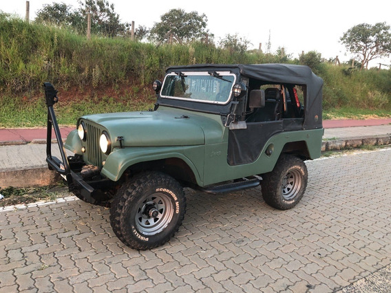 Jeep Ford Willys 76 - 6 Cil - 4x4 - Original