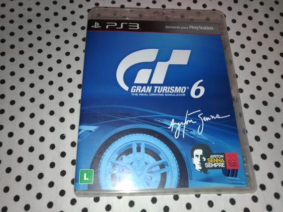 Gran Turismo 6 - Ps3 Mídia Física
