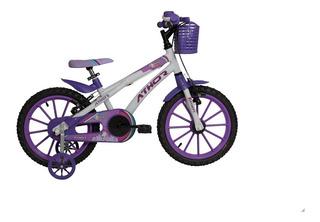 Bicicleta Athor Baby Lux Unicornio Infantil Aro 16 Feminina