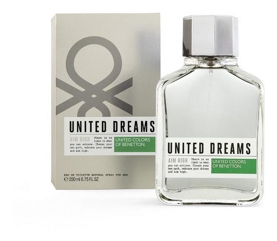 United Dreams Aim High 200 Ml Edt Spray De Benetton