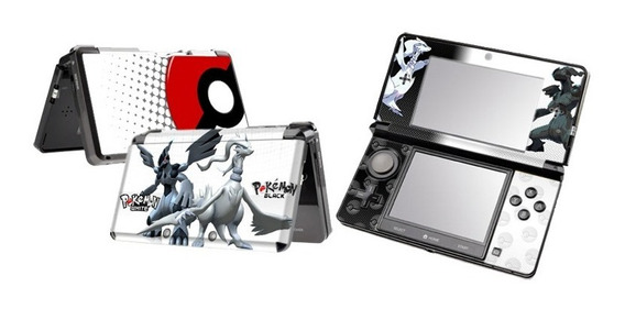 Skin Adesivo Pokemon Black E Outros Modelos P/ Nintendo 3ds