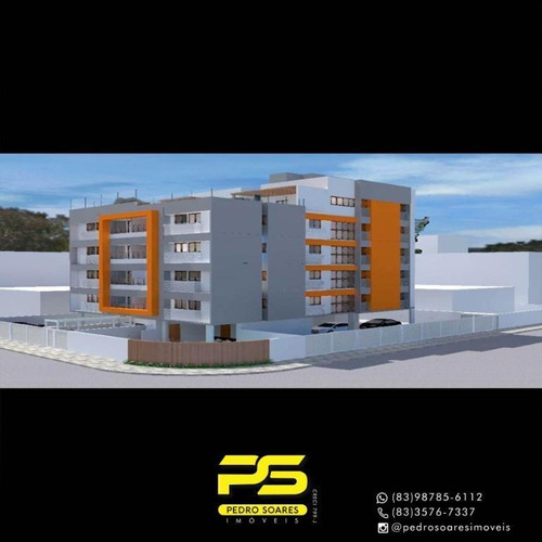 Apartamento Com 2 Dormitórios À Venda, 60 M² Por R$ 264.150 - Bessa - João Pessoa/pb - Ap3172