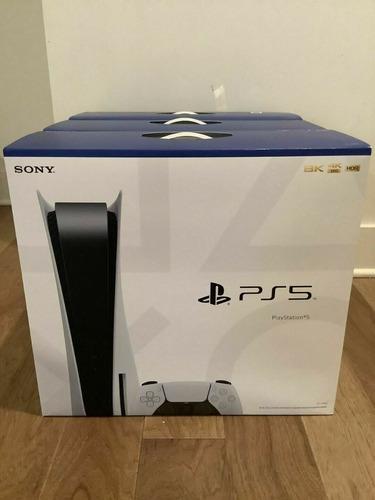 Imagen 1 de 1 de New Sony Playstation 5 Ps5 Blu-ray Disc Version Console