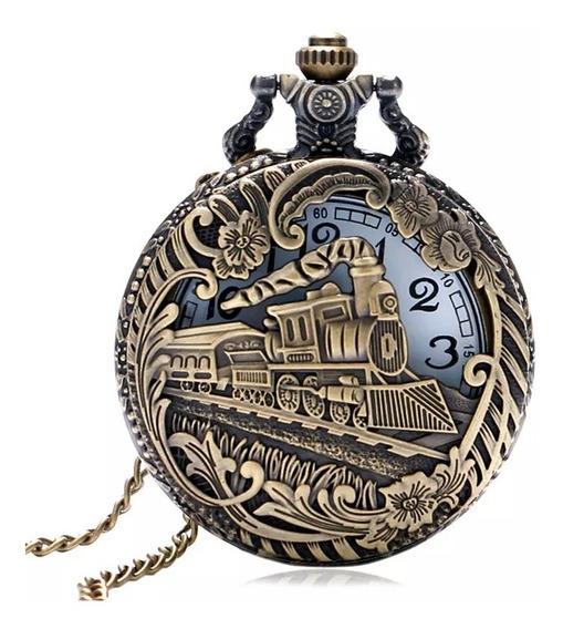 Reloj De Bolsillo, Locomotora Bronce