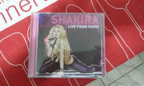 Shakira Live From Paris Cd+dvd