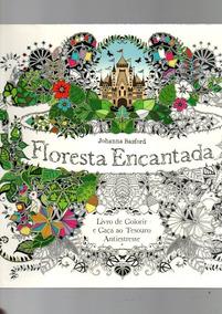 Livro De Colorir E Caça Antiestresse Floresta Encantada