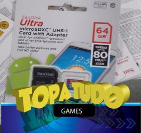 Cartão 128 Gb Sx Pro Jogos Xci Nintendo Switch Desbloqueado