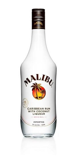 Malibu Rum Caribenho - 750ml