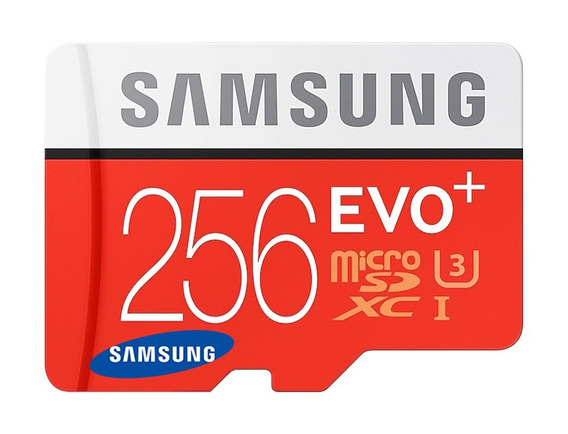 Cartão Samsung Micro Sdxc Evo 256gb 100mb/s Uhs-3 4k Lacrado