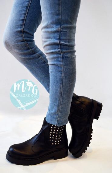Zapatos Botas Botinetas Borcegos Cuero C/elástico Art 260
