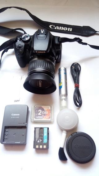 Maquina Fotografica Canon Rebel Xti Ds126151 + Memory 2gb