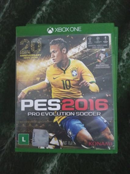 Jogo Pes 2016 Para Xbox One Mídia Fisica