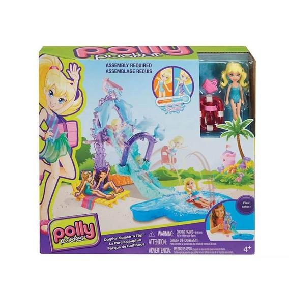 Polly Pocket - Parque De Golfinhos C/ Escorregador - Mattel