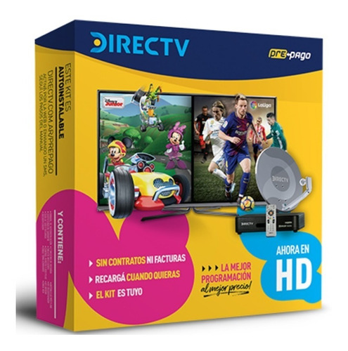 Kit Directv Hd Prepago. La Plata-city Bell