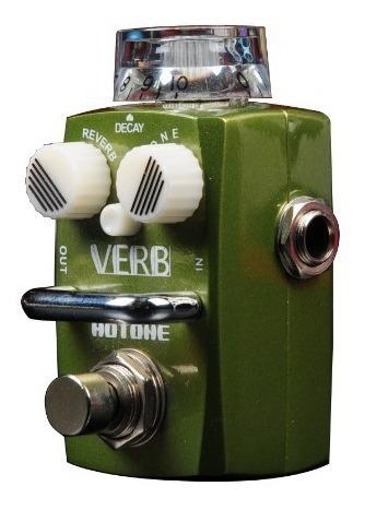 Pedal De Efeito Para Guitarra Hotone Verb Srv-1