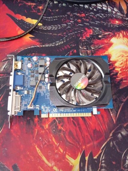 Placa De Video Gtx420 2gb Gigabyte