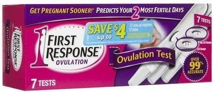 -7ct Primera Respuesta De Lectura Fácil Prueba De Ovulación