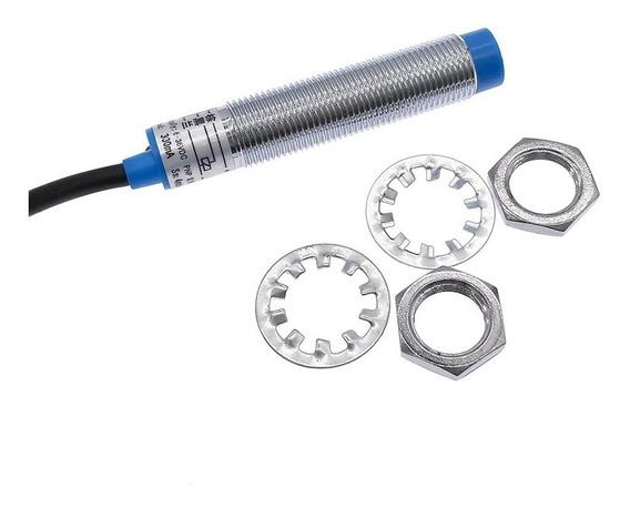 Sensor Indutivo 12mm Pnp/nf 6/36vdc 4mm De Detecção
