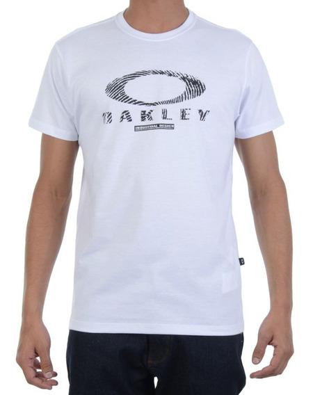 Oakley Remera Finger Blanca