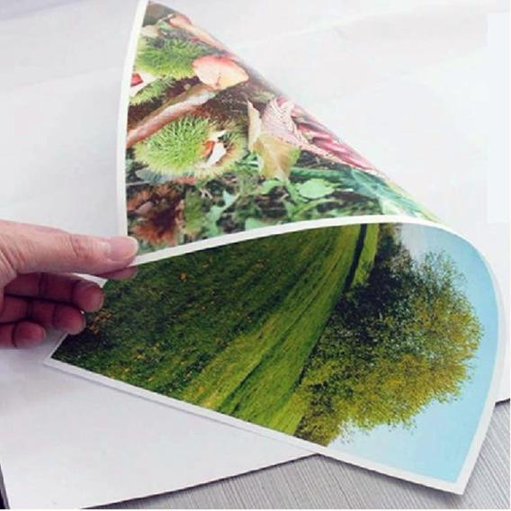 300 Folhas De Papel Foto A4 Dupla Face 180g Branco C/ Brilho