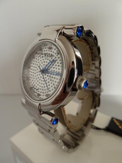 Reloj Akribos Xxiv P/caballero Con Diamantes (inv 1401)