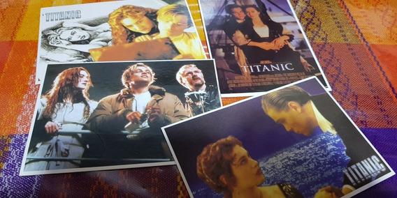 Titanic Lote 4 Postales Numero 3