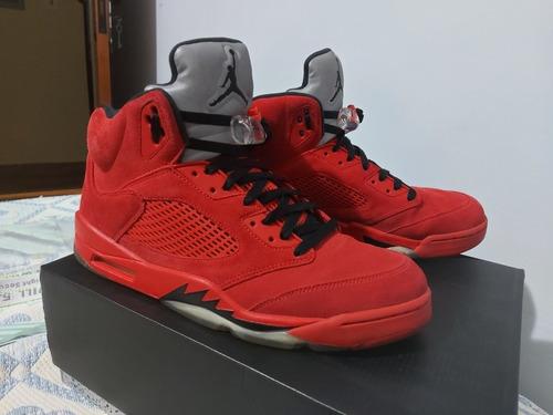 Air Jordan 5  ''red Suede''  (ler Anuncio)
