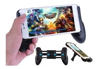Gamepad Suporte De Celular Jogos Ajustavel Retratil Para Jogos Smatphones De 4,5 A 6,5 Polegadas