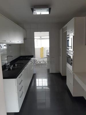 Apartamento Semi Mobiliado No Campo Belo Com 4 Dormir - Ad01