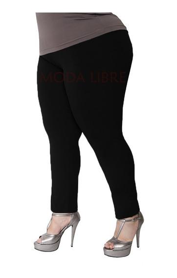 Calza Chupin Leggin Tiro Alto 100%lycra Mujer Especial 3x-6x