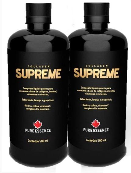 Combo 2 Unidades Collagen Supreme Nutriscience 500ml
