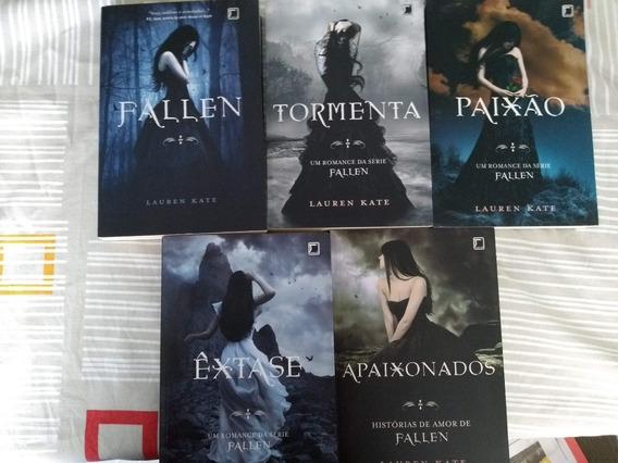 Kit Com 5 Livros Coleção Fallen